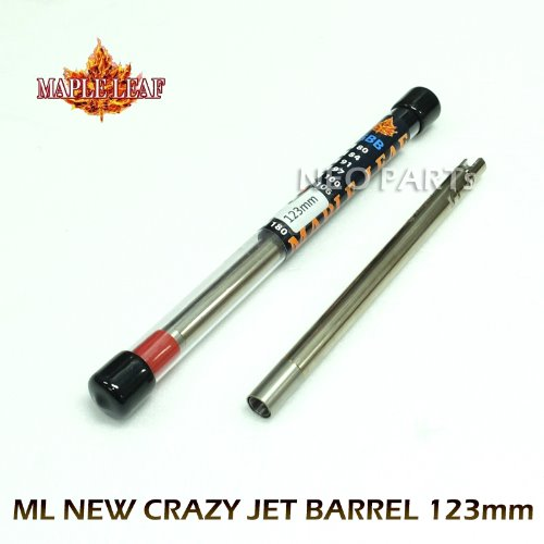 ML NEW 6.02 CRAZY JET BARREL/123mm