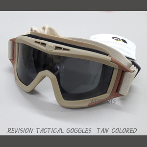 REVISION TACTICAL GOGGLES(TAN)