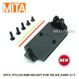 MITA STYLISH RMR MOUNT /MARUI GLOCK 17,19용