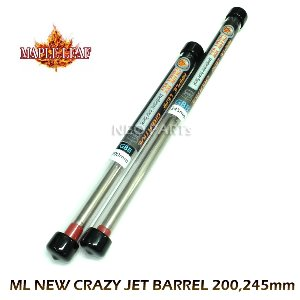 ML NEW 6.02 CRAZY JET BARREL/200,245mm